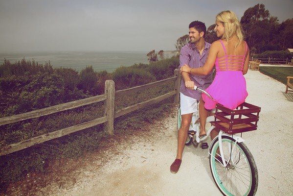 Engagement session in Santa Barbara, CA