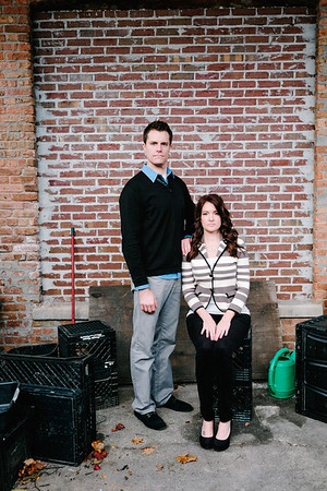 Downtown Rockford Engagement Session
