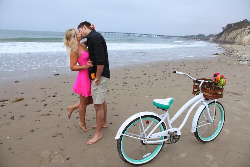 Engagement session in Santa Barbara, CA