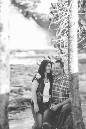 Jeri Lynn + Rick // Provo River Falls