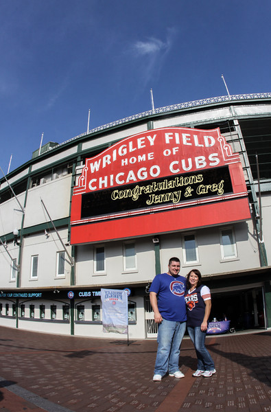 Jen and Greg Chicago Engagement Session