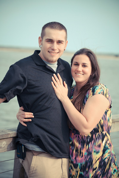 Bryce Lafoon Photography, photographs an engagement session in Southport, North Carolina.
