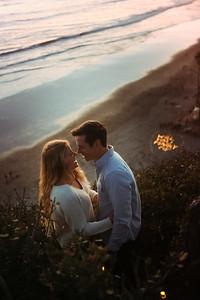Amber + Jake Surprise sunset proposal