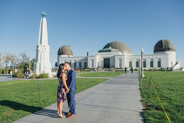 2018 May 9 Griffith Park engagement photos