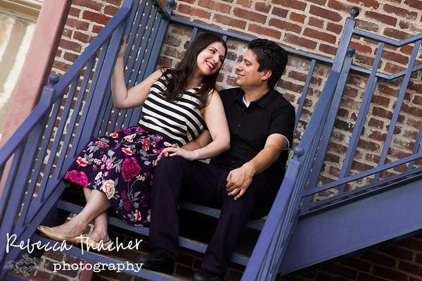 Alfred & Jenny . Engaged