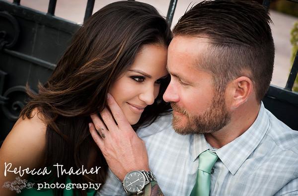 Brianna and Josh . beach engagement
