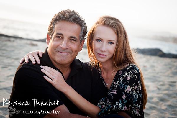 John and Anita . Engaged