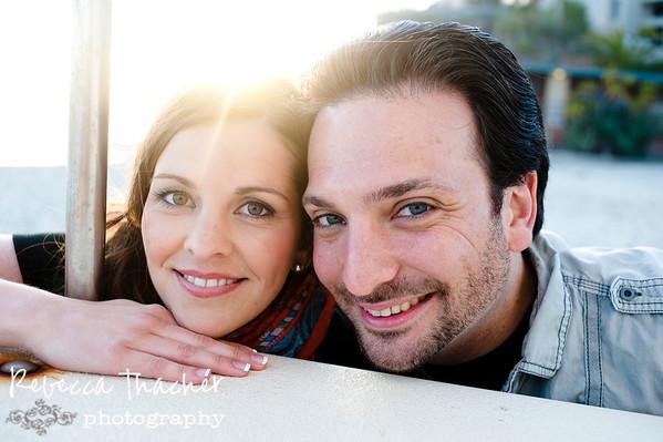 Julie . Chris . California Engagement