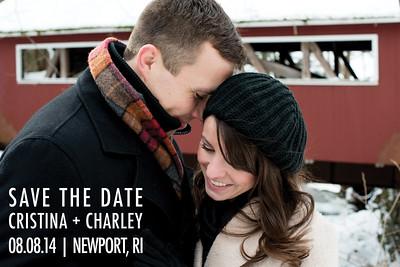 Save The Date - Cristina + Charley