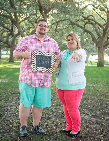 Aleesha & Trav, engaged!