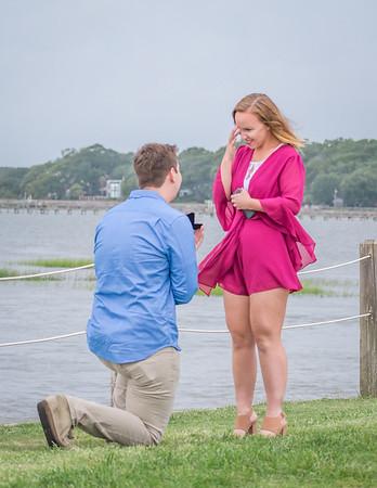 Cameron & Halley, Surprise Proposal!