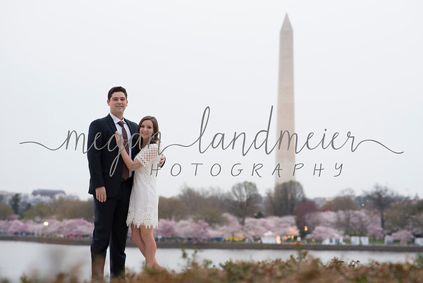 Chelsea and Ryan: Cherry Blossom Engagement