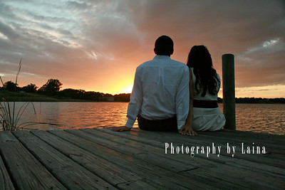 Lake Jovita-st. leo university-wedding-announcement-tampa-central-florida-wedding-photographer-photography-by-laina-save-the-date-ideas-outdoor-rustic-engagement-photoshoot-lake-sunset