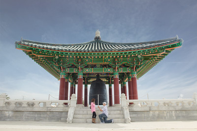 022115 - Korean Friendship Bell Surprise Proposal