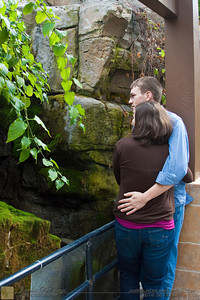 Engagement photos of Steven Bennett and fiancé Abigail Switzer photographed at the Franklin Park Conservatory Saturday February 20, 2010. (© James D. DeCamp | http://www.OurDreamPhotos.com | 614-367-6366)