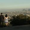 Lisa + Alex Proposal<br /> Hollywood Bowl Overlook
