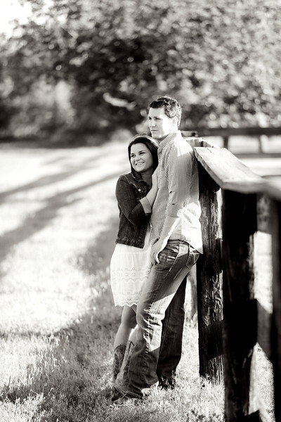 Amber & Clint Engagement Portraits