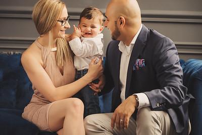 Ashley & Sumit Family Photoshoot