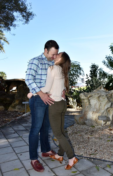 Engagement Photo Session at the Dali Museum, St Pete, FL