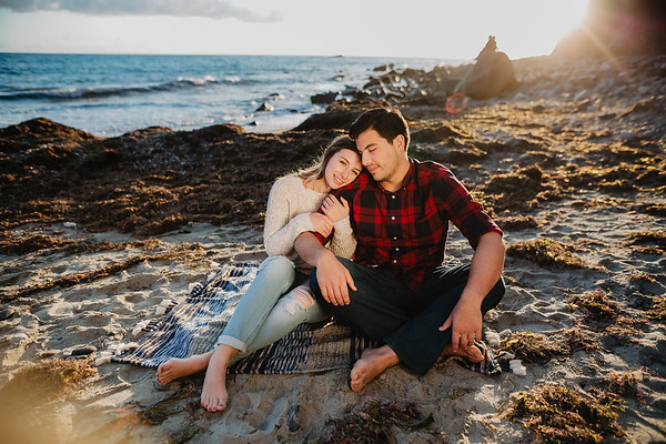 Brianna and Parker | Mission San Juan Capistrano Engagement