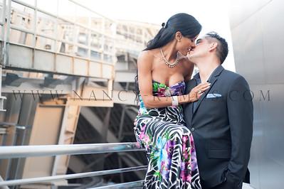 Photo credit: www.nancy-ramos.com  - #coupleportrait #engagementphotography #disneyconcerthallengagementsession #esession