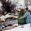 Whitney & Sam Big Cottonwood Canyon Engagement Session