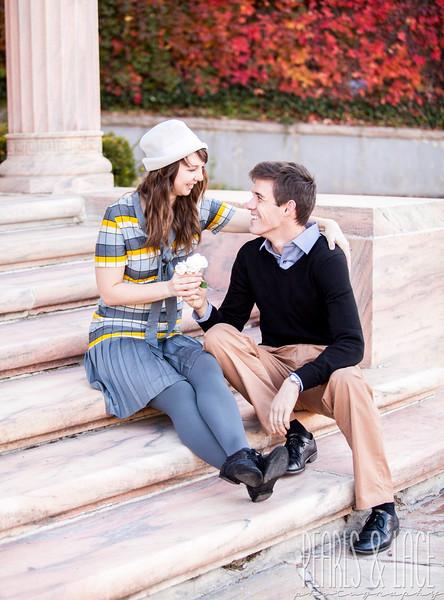 Kristi & Derek Memory Grove Engagement Session