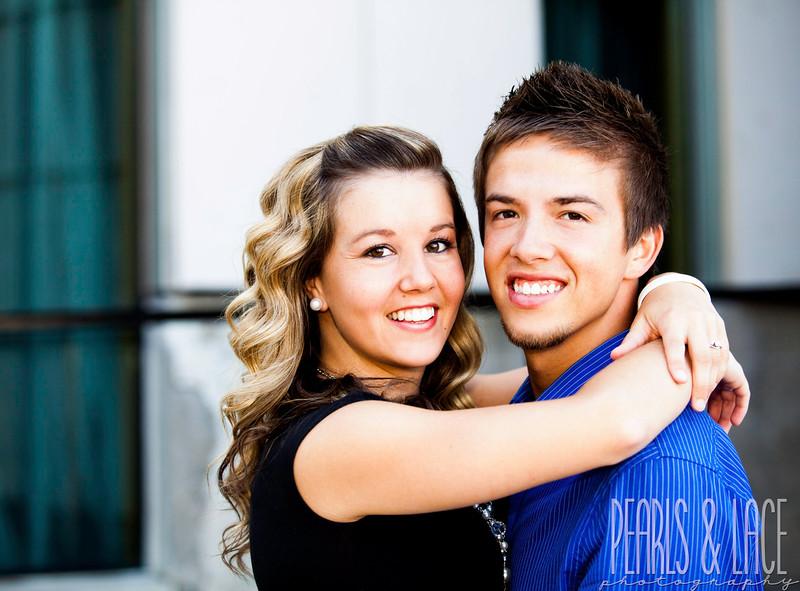 Danielle & Quintin Downtown Salt Lake City Engagements