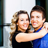 Danielle & Quintin Downtown Salt Lake City Engagements