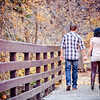 Sheena & Josh Fall Big Cottonwood Canyon Engagement Session