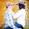 Sheena & Josh Fall Big Cottonwood Canyon Engagement Session