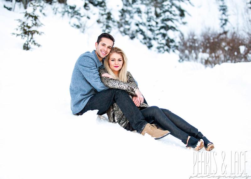 Shelby & Tyler Big Cottonwood Canyon