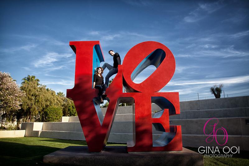 The Love Statue, Scottsdale, Arizona.