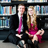 Carly & Jared Salt Lake City Library Engagements
