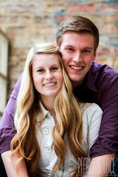Carly & Jared Downtown Salt Lake City Engagements