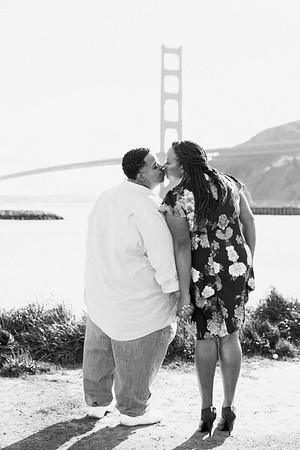 Evangela & Delmus | SF Engagement