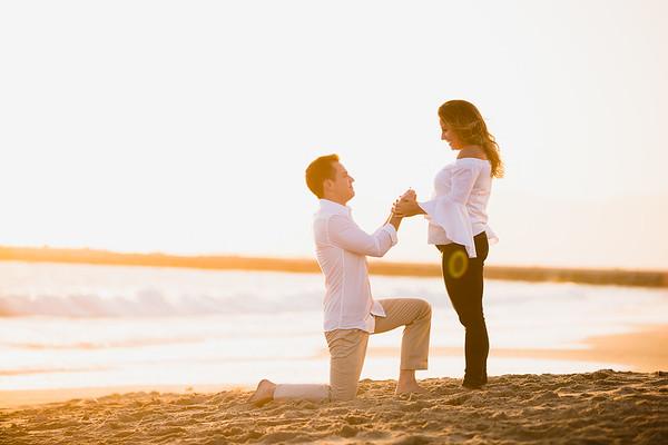 Jason and Diana | Playa Del Rey Proposal