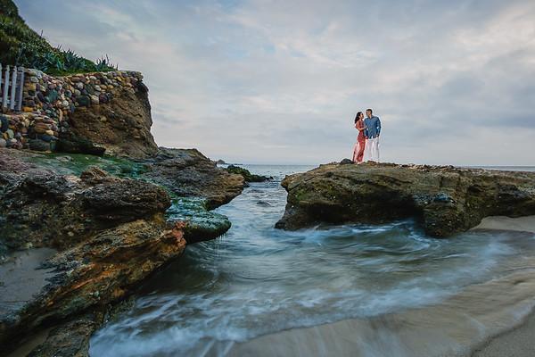 Jason and Jenica | Laguna Beach Engagement