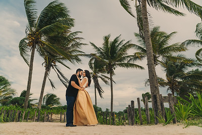 Jeete & Hardeep E-Session (Riviera Maya, Mexico)