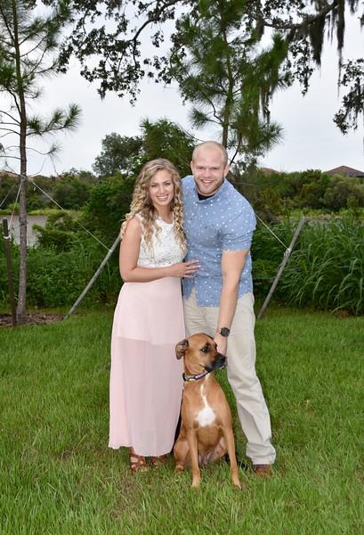 Beautiful Engagement Photo Session at Lido Beach, FL