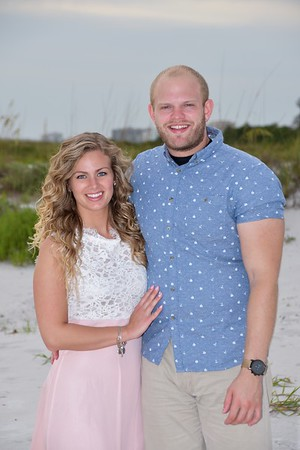 Beautiful Engagement Photo Session at Lido Beach, FL