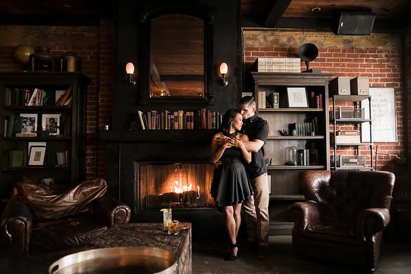 Jill and Alex | Laguna Beach Engagement | Marine Room Tavern | Heisler Park