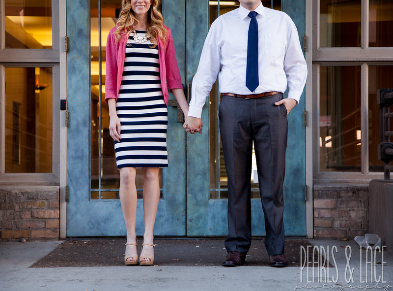 Leigh & Rudy Downtown SLC Engagement Session