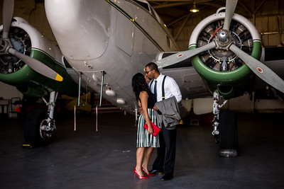 LOVE IS IN THE AIR - 1940'S AIR TERMINAL MUSEUM