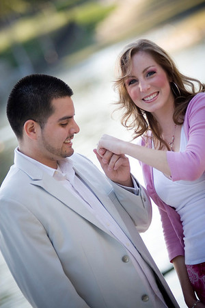 Luis and Laci's Engagement pix =)