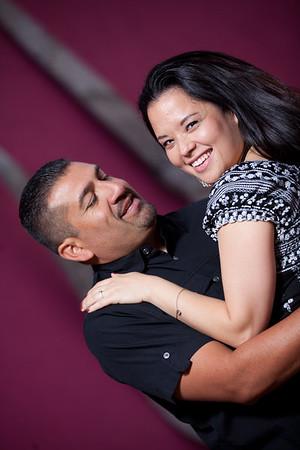 Sharon and Juan