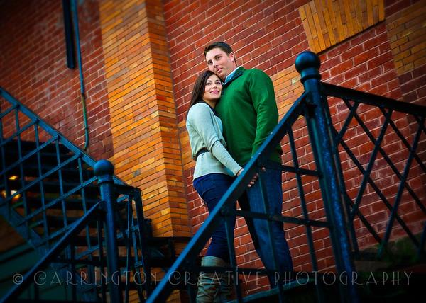 Martha and Jeff Engagement