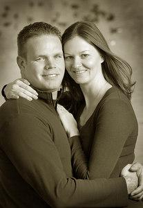 Matt and Kristi 041sepia