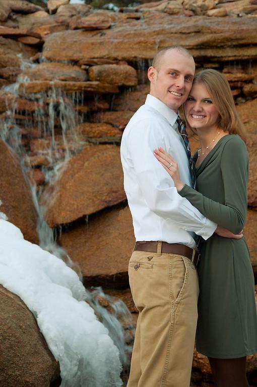 Matt and Lindsay's engagement