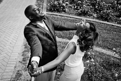 Monique + Charles: Norfolk and Newport News Engagement Photography